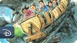 Behind the Scenes: Designing & Painting Seven Dwarf Mine Train Cars at Magic Kingdom Park