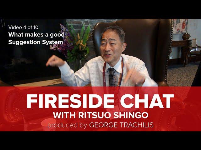 Ritsuo Shingo says,