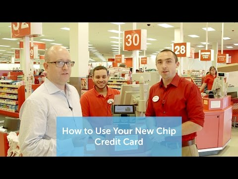 How To Use Your New Chip Credit Card