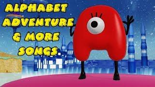 Alphabet Adventure & More Songs   Kids Songs   Nursery Rhymes   Baby Songs   Children Songs