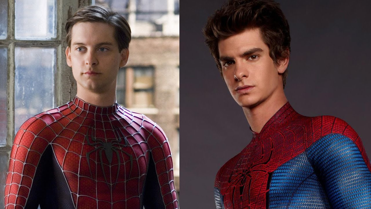 Logan De Suits >> Tobey Maguire Interviews Andrew Garfield About 'The Amazing Spider-Man' - YouTube