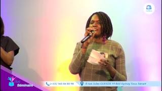 "[FERAF Jour 1] : ""Une femme transformée 2"" l Dr. Sandra Potuyt, Sr. Dena Mwana"