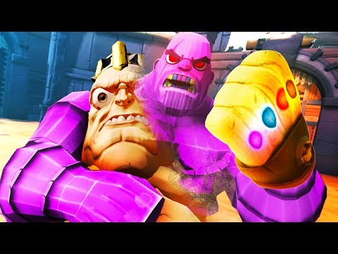 BECOMING THANOS IN GORN!!?! VIRTUAL REALITY AVENGERS!! - GORN VR (VR HTC VIVE Gameplay)
