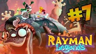 Rayman Legends (XBox One) Эпичное сражение #7 ► Co-Op Gameplay XOne