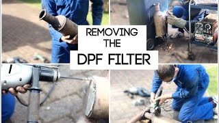 Volvo V70 DPF Removal