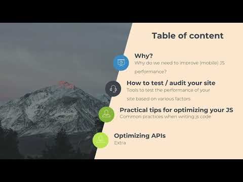 Optimize your javascript - SAŠA NIKOLIĆ | Drupal Swiss