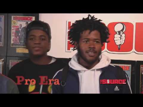 Capital STEEZ and Pro Era Interview with The Source
