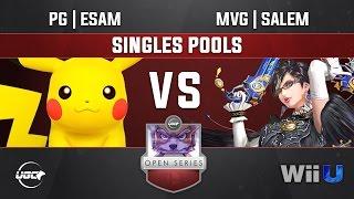 UGC Smash 4 SINGLES POOLS - PG | ESAM (Pikachu) vs MVG | Salem (Bayonetta)