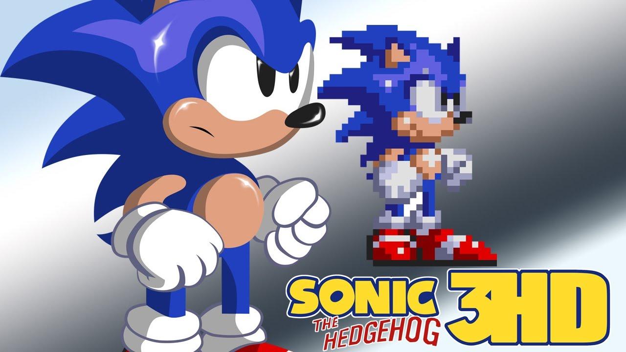 sonic 3 hd tech demo walkthrough youtube