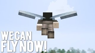 How Far Can You Fly in Minecraft 1.9?