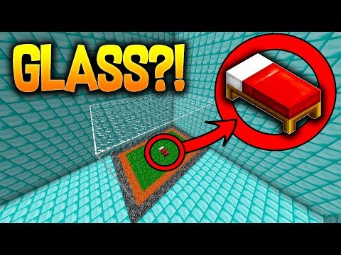 INSANE 1000 GLASS BEDWARS BED DEFENSE! w/ PrestonPlayz!