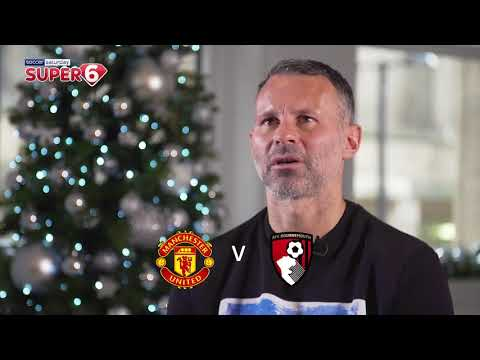 Ryan Giggs Selects His Super 6 Predictions