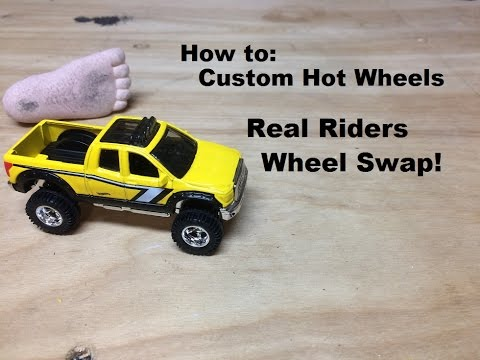 Hot Wheels Real Riders Wheel Swap