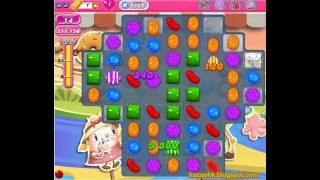 Candy Crush Saga - Level 1555 (3 star, No boosters)