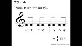 アクセント記号 | はじめてのピアノ演奏入門ブログ
