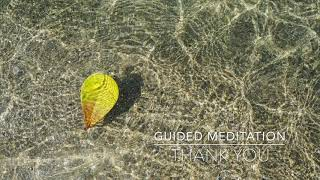 THANK YOU: 1 Minute Guided Meditation | A.G.A.P.E. Wellness