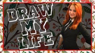 Draw my life (История моей жизни) | Эвелинушка