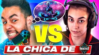 "GREFG VS LA PRIMERA CHICA DE HERETICS ""ESPE"" EN FORTNITE."