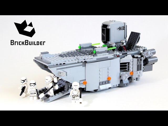 Lego Star Wars 75103 First Order Transporter - Lego Speed Build