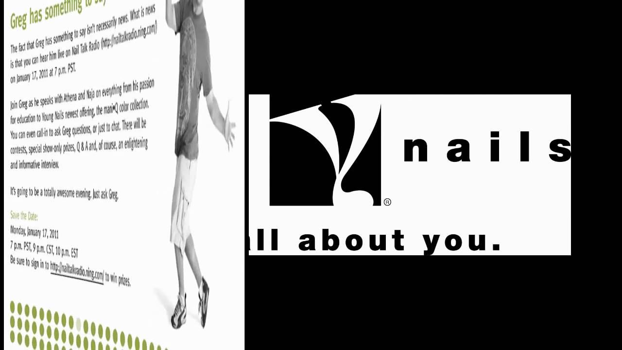 Nail Talk Radio w Greg Salo of Young Nails - YouTube