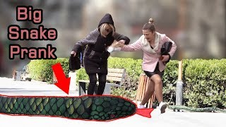 Big Snake Scare Prank!  2019 - AWESOME REACTIONS - Best of Just For Laughs