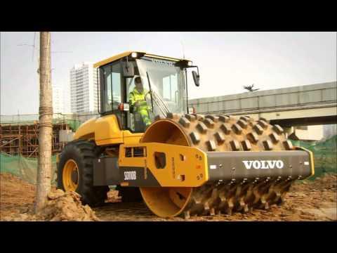 Volvo SD110B грунтовый каток