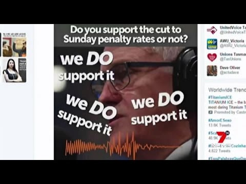 Penalty rate fate: Sunday rates set to be cut after Malcolm Turnbull's admission