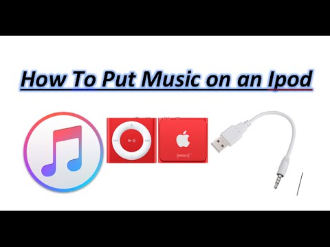 How to put music on Ipod Shuffle