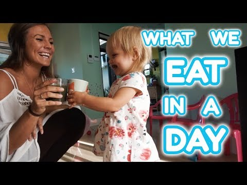 WHAT WE EAT IN A DAY AS A VEGAN FAMILY! | Yoga Girl | Rachel Brathen