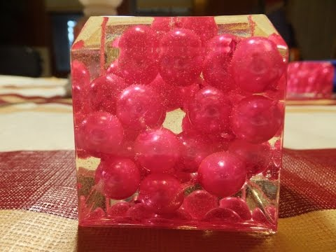 Bead & Resin Paperweight