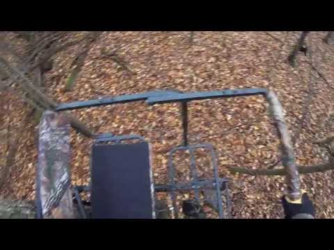 2 Person Deer Hunting Ladder Stand Made By Armeristep