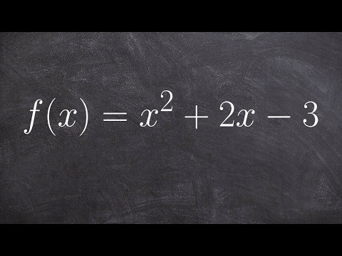 Completing The Square And Finding The X Intercepts