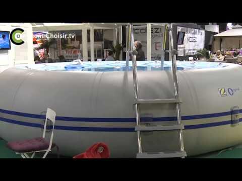 La piscine zodiac originale youtube for Montage piscine
