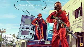 Muzyczne GTA V - Prolog #1 (Basta - Mama I`m a Criminal )