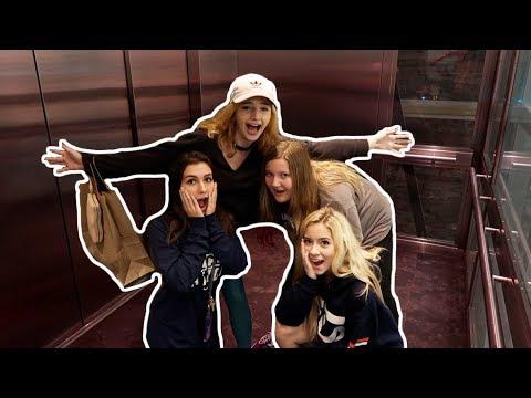 WE GOT STUCK IN AN ELEVATOR! - Madysyn Rose