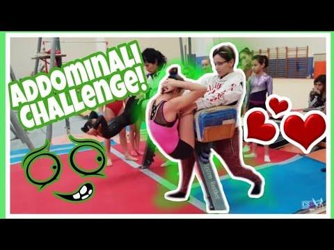 ADDOMINALI CHALLENGE SPECIAL ginnastica artistica CSB