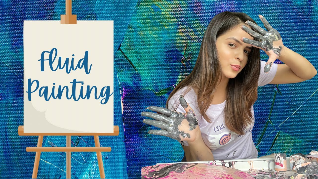 I Tried Fluid Painting And Failed 😝 | Palak Sindhwani