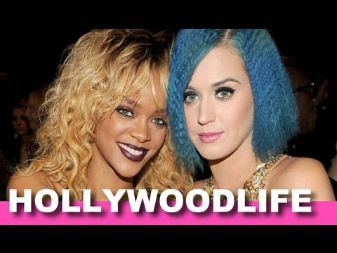 Katy Perry Refuses To Sit With Rihanna At Grammys Over Chris Brown