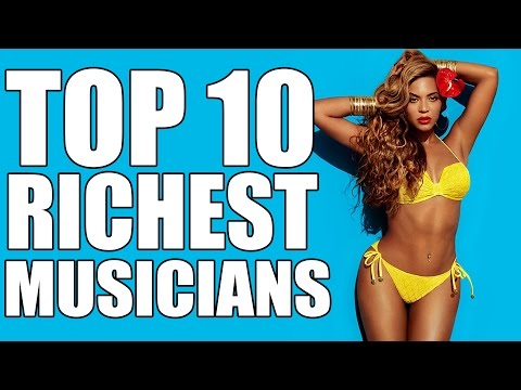 Top 10 Richest Musicians In The World – 2017 (Net Worth)
