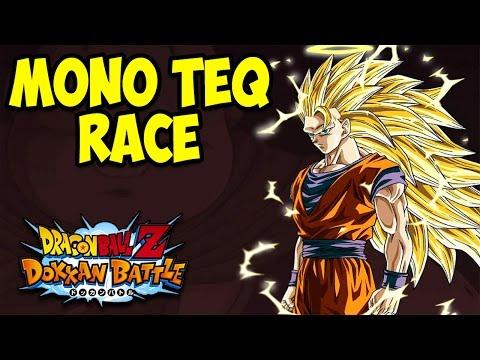 LMAO! MASKED SAIYAN IS OP! LAUGH YOUR BUTT OFF! Mono TEQ Race w/Zenrotto   DBZ Dokkan Battle!