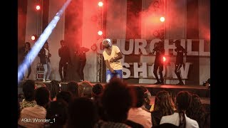 Starboy Performs Live At Churchill Show Thika.