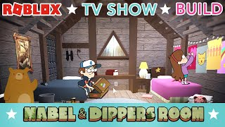 MABEL & DIPPER'S ROOM   BLOXBURG TOUR   ROBLOX   GRAVITY FALLS