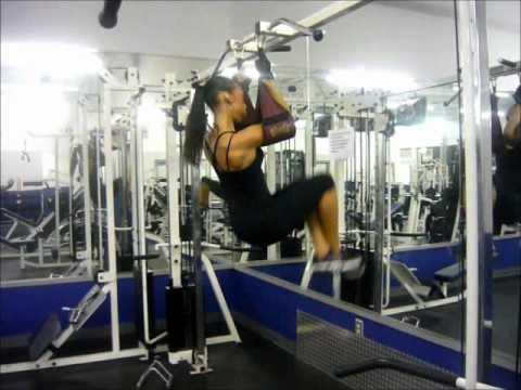 Hanging Leg Raise With Straps Ab Straps Hangi...