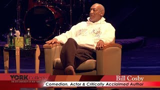 Bill Cosby and Frank Savage Speak at York College