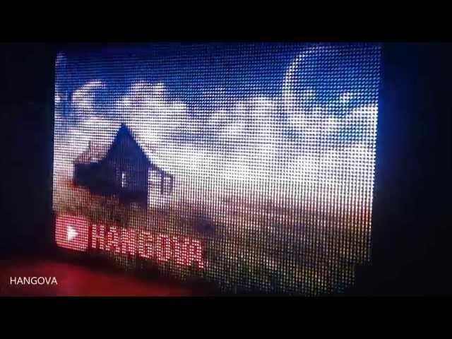 RGB Led Ekran Video, Resim Oynatabilme