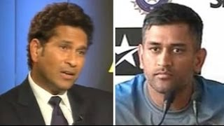 Why Mahendra Singh Dhoni did not let Sachin Tendulkar participate in team huddle