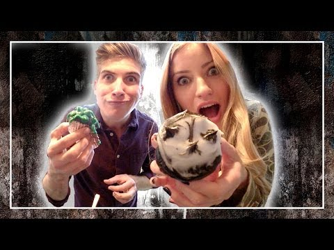 How to Make Cupcakes with Joey Graceffa   iJustine
