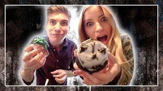 How To Make Cupcakes With Joey Graceffa | Ijustine
