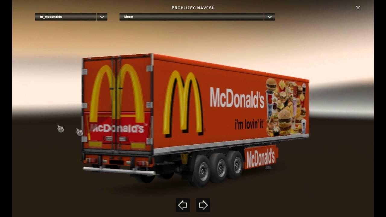 [ETS2]Euro Truck Simulator 2 Trailer Pack Fast Food v1.0 ...