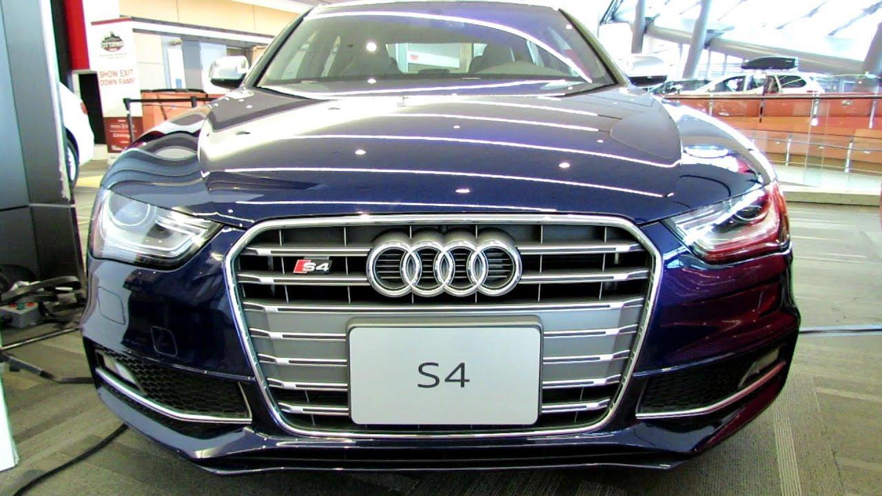 2014 Audi S4   Exterior And Interior Walkaround   2014 Ottawa Gatineau Auto  Show   YouTube